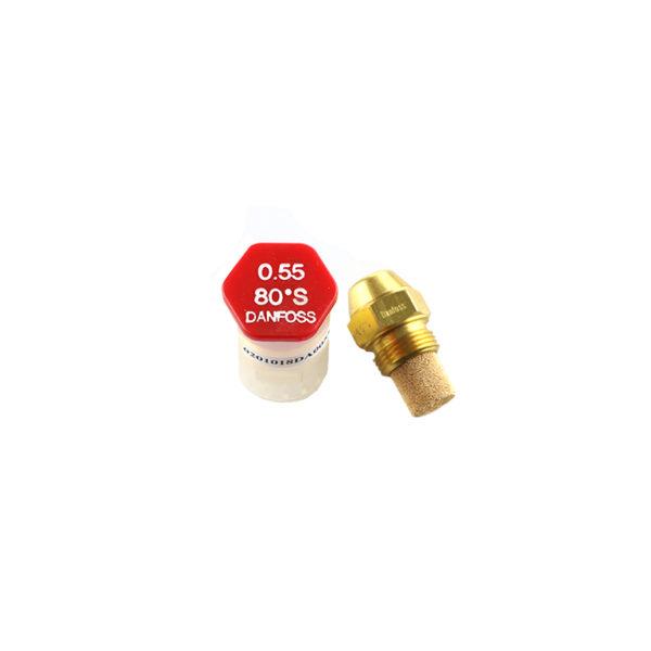Chicler boquilla inyector danfoss 0,55 80 | Climatik.online
