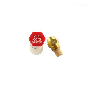 Chicler boquilla inyector danfoss 2,50 80 | Climatik.online