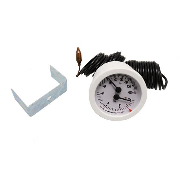Termomanómetro 6kg 0-120º caldera Ferroli